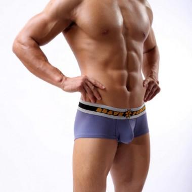 Boxer-briefs medvilniniai šortukai